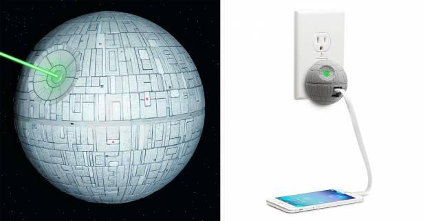 """星戰迷快看過來!帝國終極武器""""死星""""可以幫你充手機跟平板耶!"""