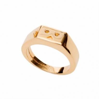 超強簡易風格阿楞戒指,情侶來一對吧