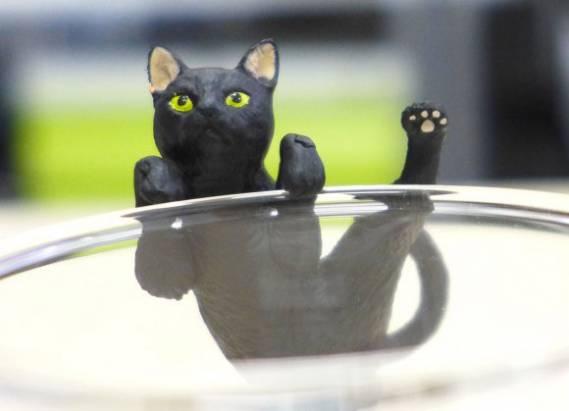 黑貓控必搜!黑色萌貓杯緣子紀念小物