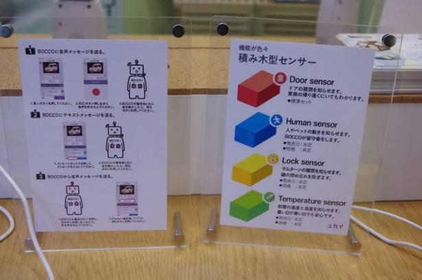 CEATEC Japan 2015 :可愛的居家小警衛, BOCCO 動眼看