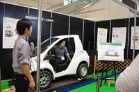 CEATEC Japan 2015 : 豐橋技術科學大學與大成建設展出藉由無線供電技術加快電動車在高速公路的性能