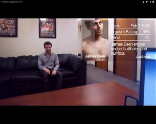 第一部以Google眼鏡來拍攝的愛情動作片,看完預告後還真佩服創意……