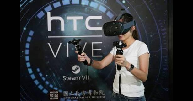 故宮博物院運用HTC Vive虛擬技術,讓郎世寧畫作呈現新穎風貌