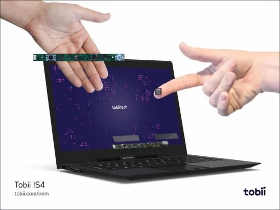 眼控世代將來臨? Tobii Tech 發表針對消費性電子的眼控追蹤平台