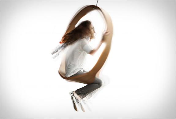 一環一線,我來實現…CIRCLE鞦韆搖椅