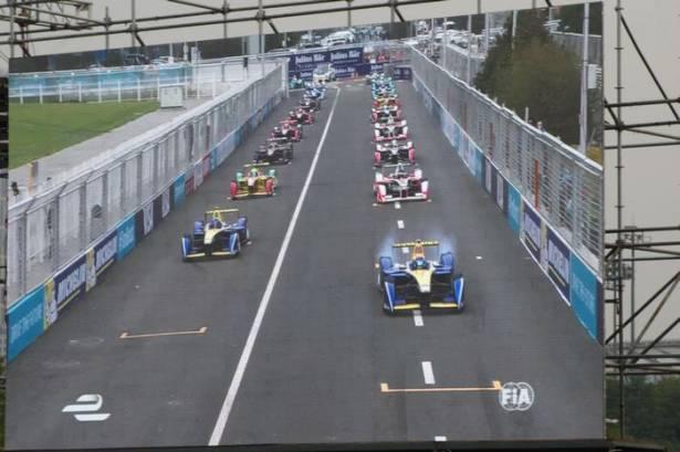 第二屆 Formula E 北京開幕戰觀後感,一場寧靜的急速電馳