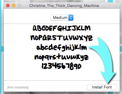 免費將手寫字體轉換成電腦字型