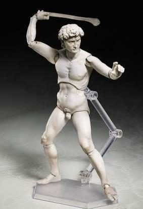 我聽到米開朗基羅哭泣的聲音…可動式大衛雕像公仔