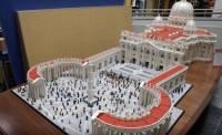 樂高梵蒂岡廣場細節二三事