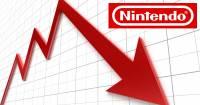 任天堂的股價在五日間下降了約20 ,市值6500億日圓蒸發