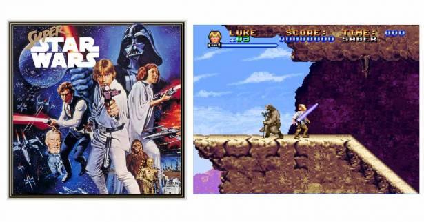 超任經典老遊戲《超級星際大戰》(Super Star War)將於PS4和PS Vita登場