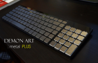 DEMON ART : metal PLUS 系列 85 鍵盤,需要你的新台幣支持