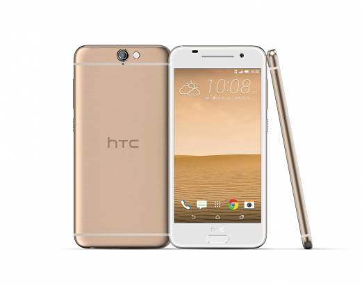 HTC One A9 第三色黃晶金新色登場