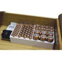 方便管理電池的整理盒