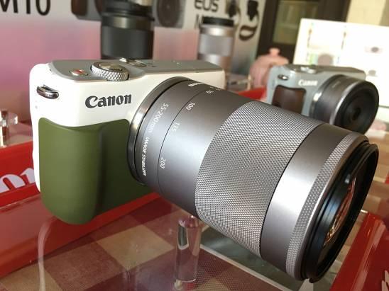 Canon 決定正視女性市場,推出喚醒心靈深處女孩靈魂的 EOS M10