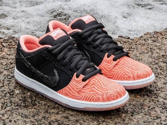 NIKE推出鮭魚滑板鞋