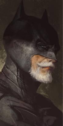 超級英雄老態幻想圖