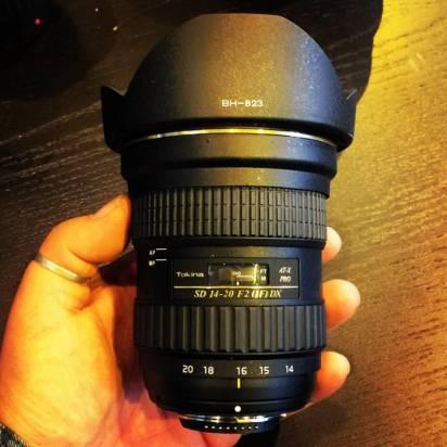 Tokina 遲來的反擊?疑似 14-20mm f2.0 APS-C 新鏡頭曝光