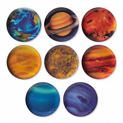 幫你餐餐美食配太陽系行星碗盤組