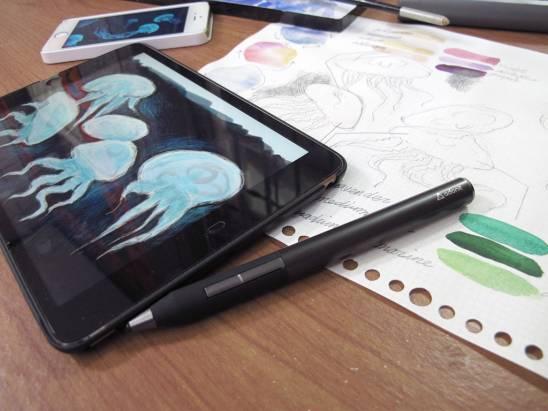 """今日新聞淺談:用 iPad Pro 畫 """"今日新聞淺談"""" 會遇到哪些狀況...?"""
