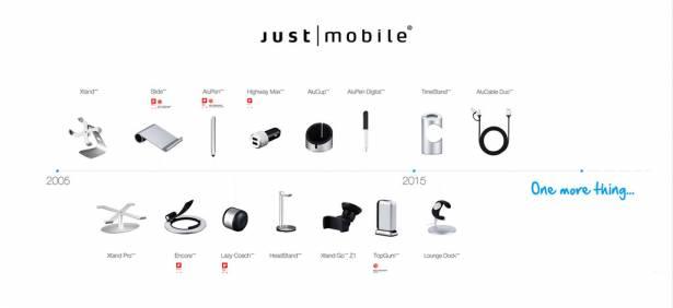 [品牌大傳奇] 台德兩國攜手合作,Just Mobile 打造真正「Apple 設計/品質」蘋果週邊配件