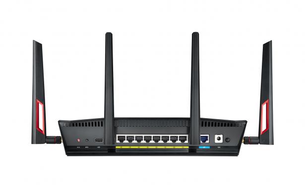主打電競玩家族群,華碩推出 RT-AC88U 雙頻無線分享器