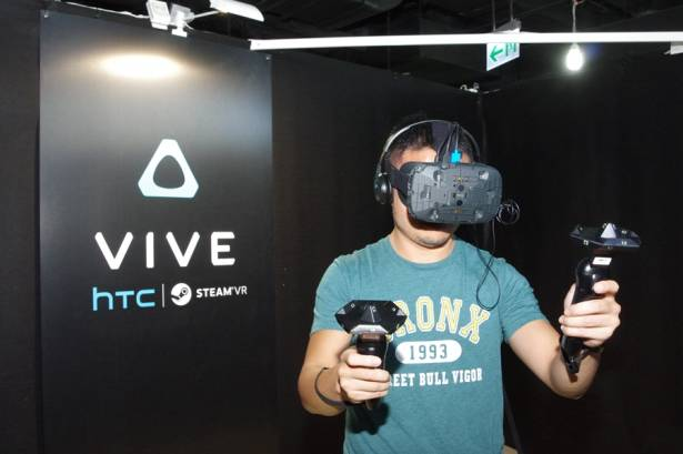 感受如夢似幻的虛實合一世界, HTC Vive 三創展區搶先體驗