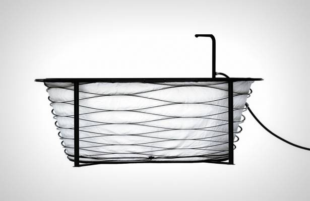 和小七便當袋一樣的可折疊式浴缸