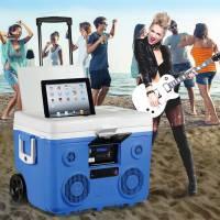 結合保冷箱與藍牙喇叭的戶外用品