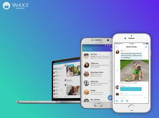 Yahoo Messenger 全新改版,提供跨 Android 、 iOS 與網頁平台選擇