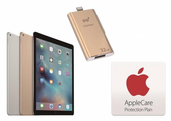 德誼數位宣布針對 iPad Pro 推出保護優惠方案,包括 AppleCare Protection Plan 與保護周邊優惠