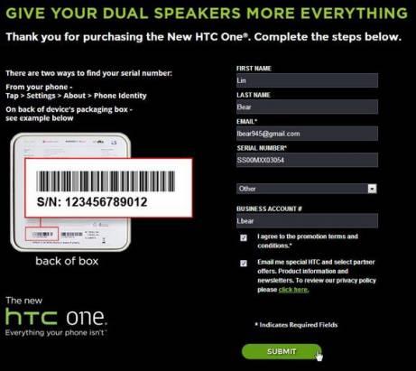HTC 送你 25 美元 Google Play 購物金!!