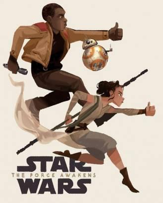《Star Wars 星際大戰》電影喚醒了藝術家們的藝術魂