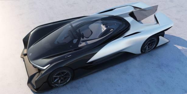 CES 2016 :瘋狂的千匹馬力電動車現身, Faraday Future 公布 FFZero1 概念車