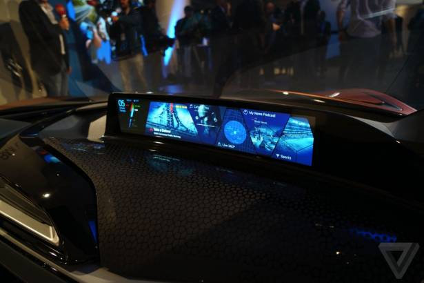 CES 2016:所有男人的科技夢想 BMW i8 Spyder