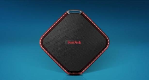 CES 2016:Sandisk推出Extreme 510隨身SSD硬碟,防水防塵耐摔
