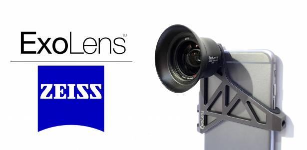 CES 2016 : iPhone 攝影達人必備神器, ExoLens 展出採用蔡司鏡片的外掛鏡片
