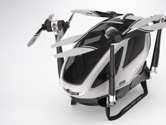 CES 2016:億航184個人自動化飛行器,帶你翱翔天際
