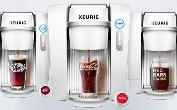 CES 2016:喝氣泡最新鮮的可樂!Keurig Kold 膠囊可樂機