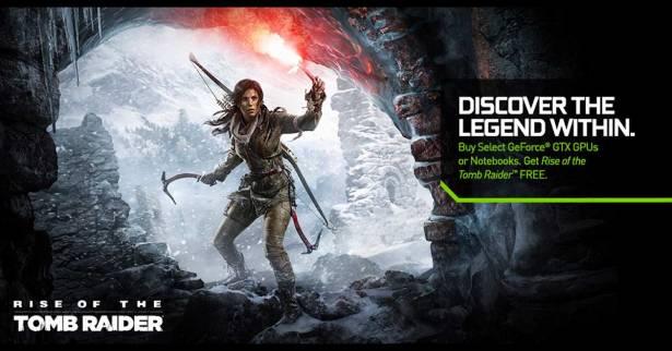 PC版《古墓奇兵:崛起》將與Nvidia 970/980/980 Ti顯示卡做限定同綑銷售