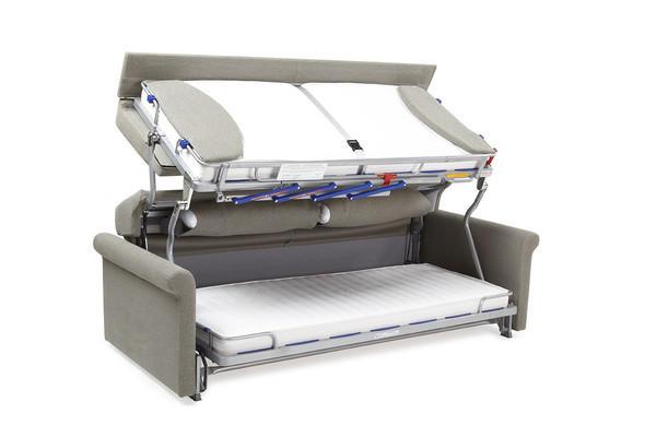 醒著排排坐 睡覺上下鋪的變形沙發床