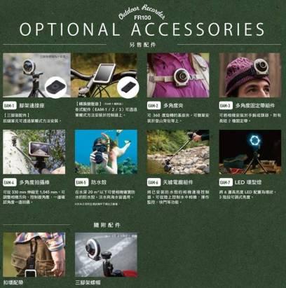 卡西歐硬派創意相機 EX-FR100 在台推出