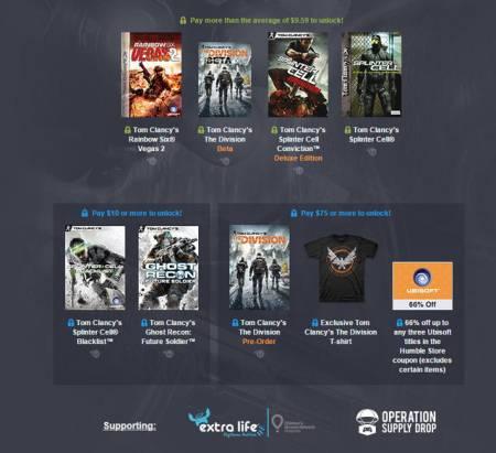 湯姆克蘭西系列之諜報遊戲《縱橫諜海》、《虹彩六號》等正在Humble Bundle上特價