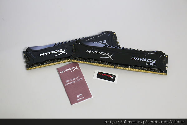 Kingston HyperX Savage DDR4-3000 16GB KIT 小測