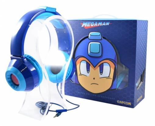 想當洛克人不一定要買頭盔,有一副洛克人耳機就行囉!