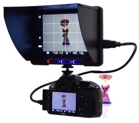 想要讓相機擁有超越手機螢幕大小的預覽畫面嗎?就靠這個外接了