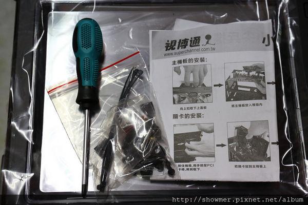 視博通 小尖兵 M-ATX 主機板專用機箱實裝分享