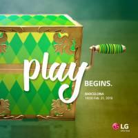 LG 公布 MWC 發表會時間,並以 Play Begin 作為此次主題
