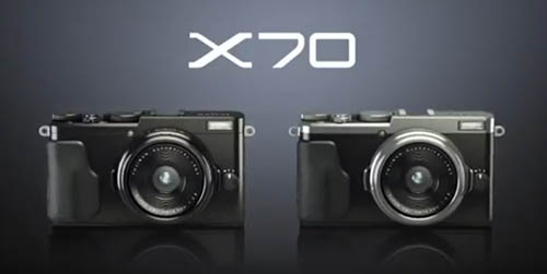 富士三款 APS-C 片幅新機預告片出現,分別為 X-Pro2 、 XE-2S 以及定焦隨身機 X70