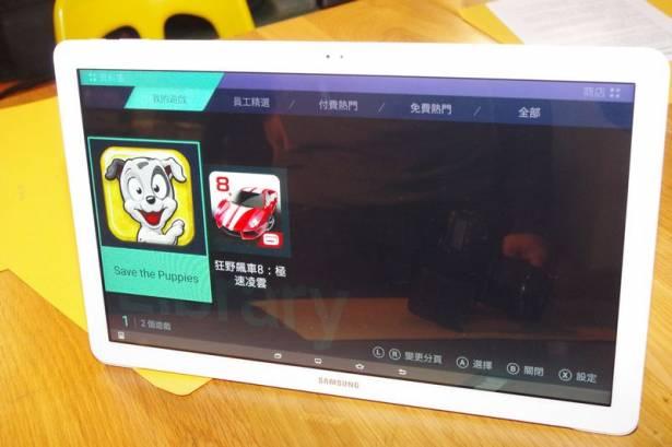 大螢幕看電影才夠爽,三星在台推出 18.4 吋 Galaxy View 平板電視